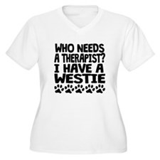 I Have A Westie Plus Size T-Shirt