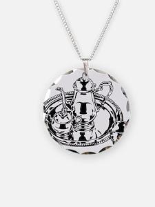 Tea set Necklace