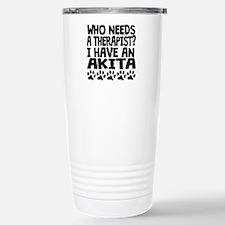 I Have An Akita Travel Mug