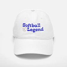 Softball Legend Baseball Baseball Cap