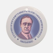FDR - Progress Ornament (Round)