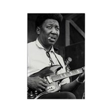 Muddy waters Rectangle Magnet