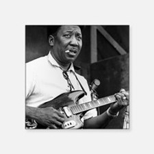 "Muddy waters Square Sticker 3"" x 3"""