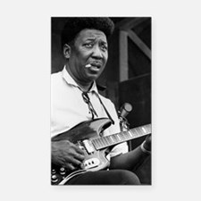 Muddy waters Rectangle Car Magnet