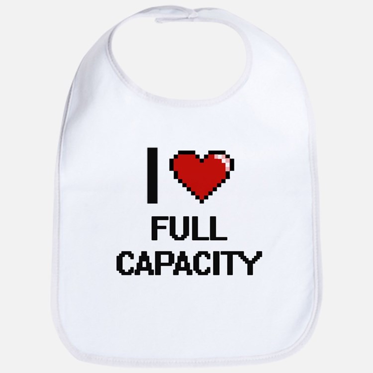 I love Full Capacity Bib