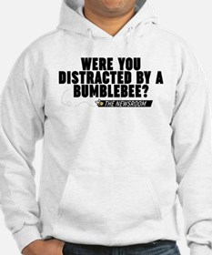Distracted By A Bumblebee The Newsroom Hoodie