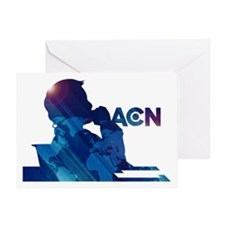 The Newsroom ACN Blue Greeting Cards