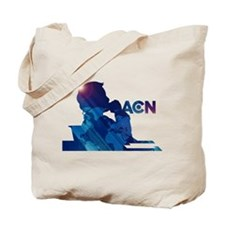 The Newsroom ACN Blue Tote Bag