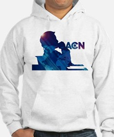 The Newsroom ACN Blue Hoodie