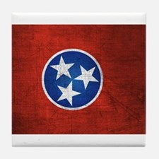 Tennessee State Flag Tile Coaster