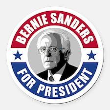 Bernie Sanders For President [rnd Round Car Magnet