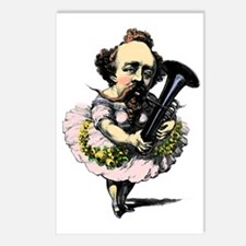 Baritone Fairy Postcards (Package of 8)