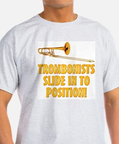 Trombonists Slide In To Position T-Shirt
