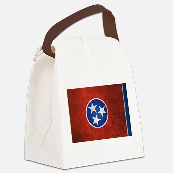 Tennessee State Flag Canvas Lunch Bag