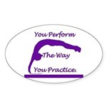 Gymnastics Sticker - Perform