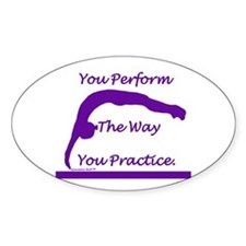 Gymnastics Sticker - Perform