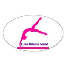 Gymnastics Sticker - Beam
