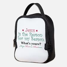 Jesus Is My Reason Neoprene Lunch Bag