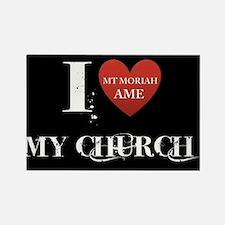 I Love My Church, Mt Moriah AMEC Cocoa, FL Magnets