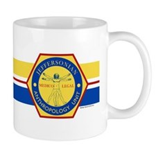 Bones Jeffersonian Anthropology Unit Fu Small Mug