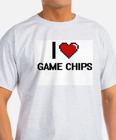 I love Game Chips T-Shirt