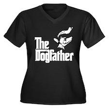Xoloitzcuintli Women's Plus Size V-Neck Dark T-Shi