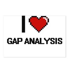 I love Gap Analysis Postcards (Package of 8)