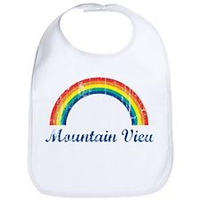 Mountain View (vintage rainbo Bib