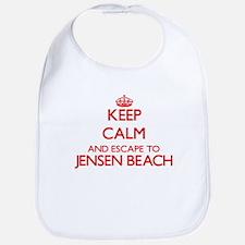 Keep calm and escape to Jensen Beach Florida Bib