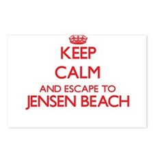 Keep calm and escape to J Postcards (Package of 8)