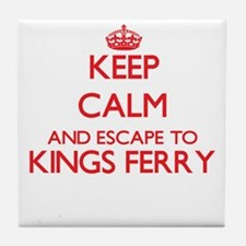 Keep calm and escape to Kings Ferry G Tile Coaster