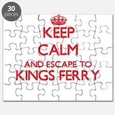 Keep calm and escape to Kings Ferry Georgia Puzzle