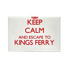 Keep calm and escape to Kings Ferry Georgi Magnets