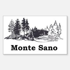 Monte Sano Civic Assoc Decal