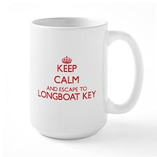Keep calm and escape to Longboat Key Florida Mugs