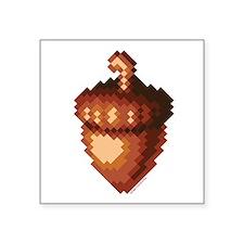 """Ice Age Acorn Square Sticker 3"""" x 3"""""""