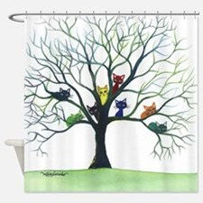 Eau Claire Stray Cats Shower Curtain