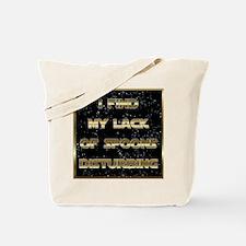 Lack of Spoons Tote Bag