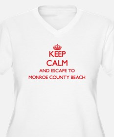 Keep calm and escape to Monroe C Plus Size T-Shirt