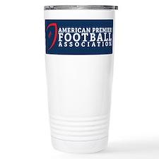 Unique Football Stainless Steel Travel Mug