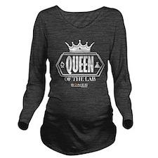 Bones Queen of the L Long Sleeve Maternity T-Shirt