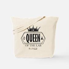 Bones Queen of the Lab Tote Bag