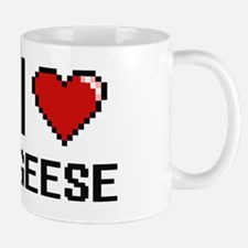 Cute I heart geeses Mug