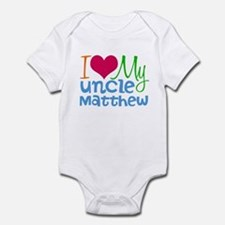I Love My Uncle Infant Bodysuit
