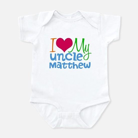 I Love My Uncle Infant Bodysuit