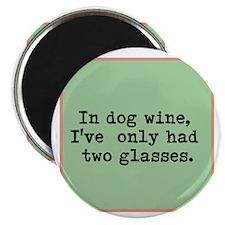 Cute Wine Magnet