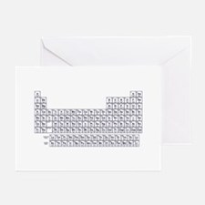 Periodic Table w/a TWIST Greeting Cards (Pk of 10)