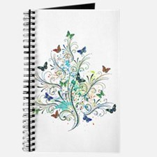 Flourishes and butterflies Journal