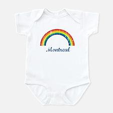 Montreal (vintage rainbow) Infant Bodysuit