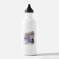 Edgar Allan Poe The Raven Poem Water Bottle